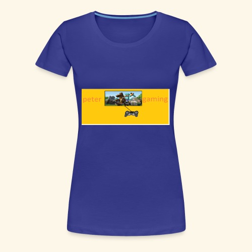 peter gaming - Women's Premium T-Shirt