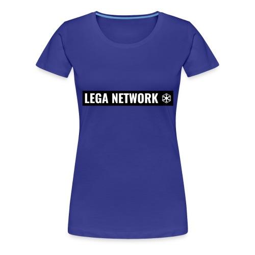 Tazza Logo Lungo Nero - Maglietta Premium da donna