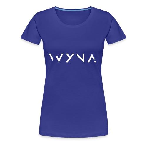WYNA Basic 1 - Frauen Premium T-Shirt