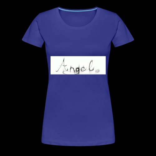 angel text - Women's Premium T-Shirt