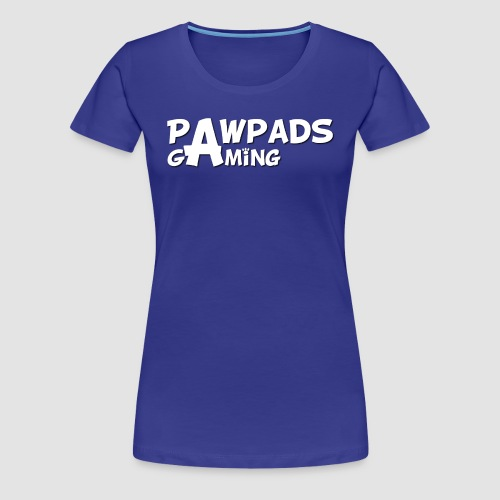 PawPads Gaming TEXT logo - Women's Premium T-Shirt