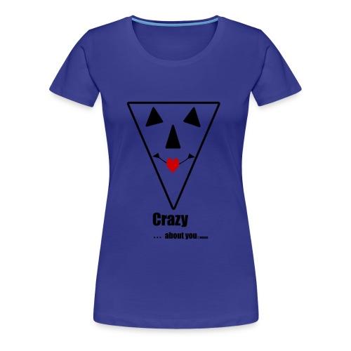 CRAZY - Vrouwen Premium T-shirt