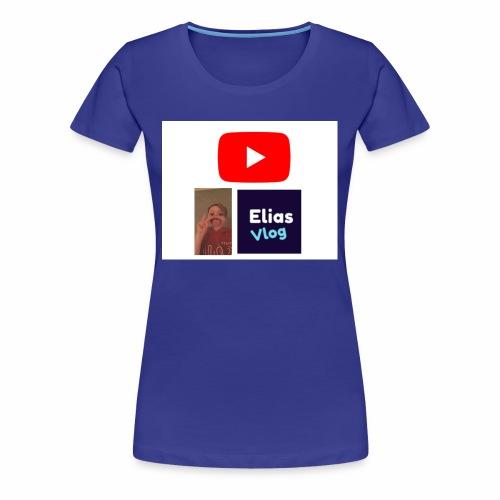 YT Elias Vlog - Premium T-skjorte for kvinner