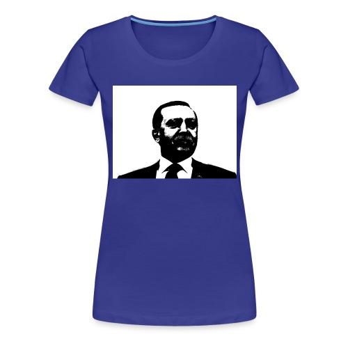 President Erdogan of Turkey - Women's Premium T-Shirt