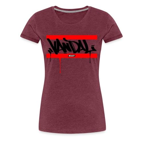#EASY Graffiti Vandal T-Shirt - Maglietta Premium da donna