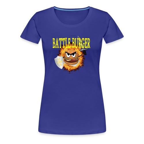 Battle_Burger - Camiseta premium mujer