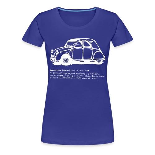 Classic car2 - Women's Premium T-Shirt