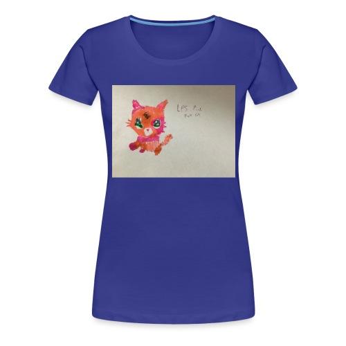 Little pet shop fox cat - Women's Premium T-Shirt