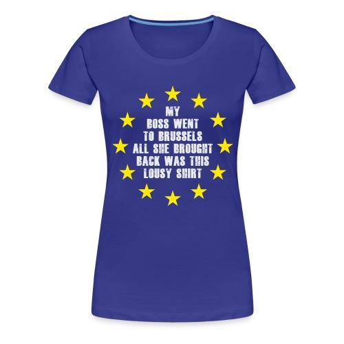 Lousy-Brexit-shirt - Women's Premium T-Shirt