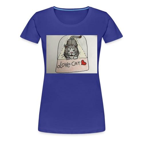 Love cat - Maglietta Premium da donna