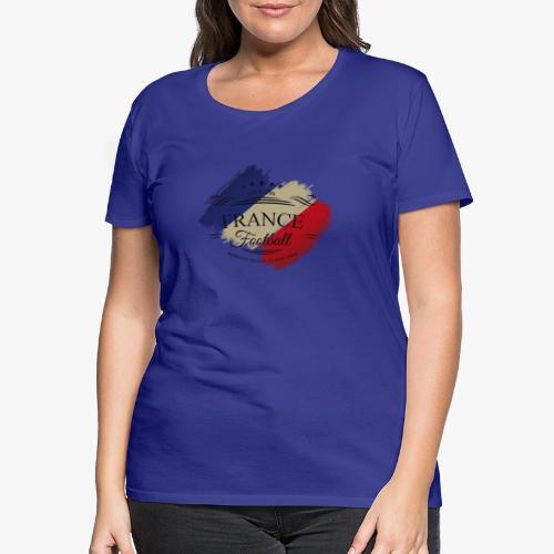France Football - Frauen Premium T-Shirt