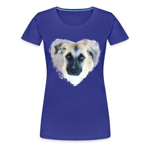 Ciqala - Ein Herz für Streuner - Frauen Premium T-Shirt