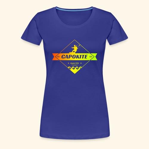 logo capokite 3 couleurs - T-shirt Premium Femme