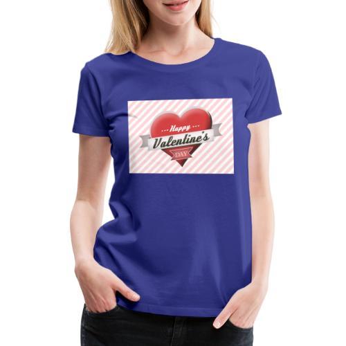 happy valentines day - Women's Premium T-Shirt