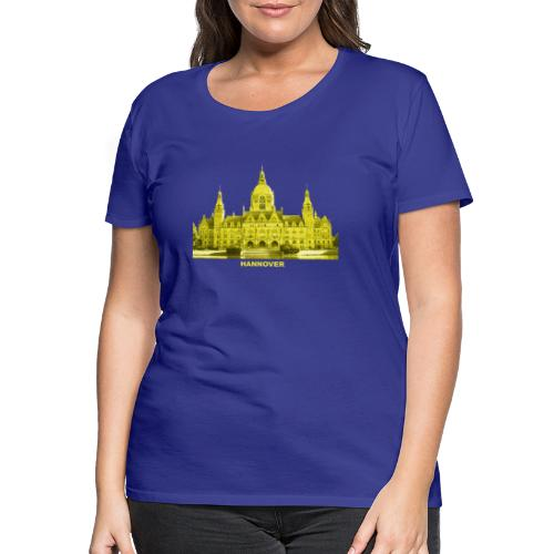 Hannover Rathaus Niedersachsen - Frauen Premium T-Shirt
