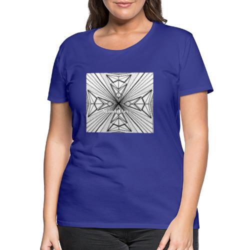 MandalArt Design - Void - Vrouwen Premium T-shirt