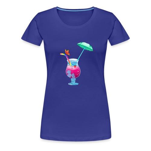 Cocktail estival - T-shirt Premium Femme