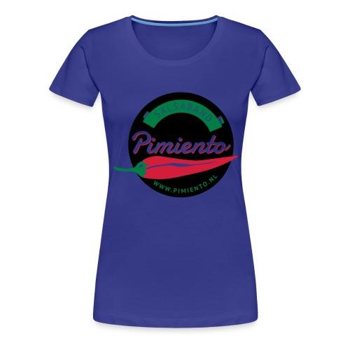 Salsaband Pimiento T-shirt Zwart - Vrouwen Premium T-shirt