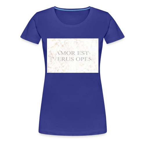 Amor - Premium-T-shirt dam