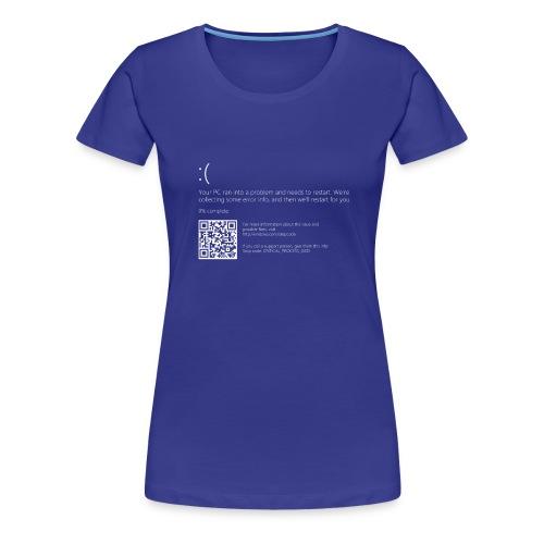 Windows 10 Blue Screen - Women's Premium T-Shirt