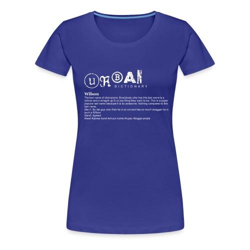 UD Wilson v2 png - Women's Premium T-Shirt