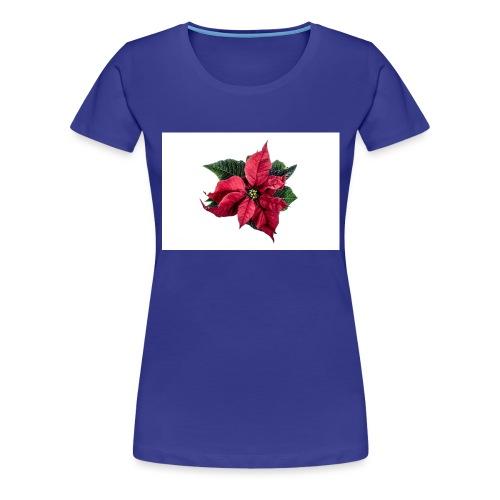 christmas-flower-1386873634Kpm - Premium-T-shirt dam