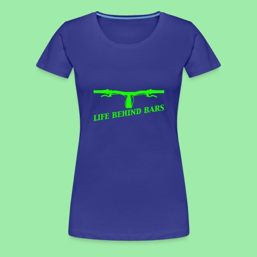 life behind bars2 - Vrouwen Premium T-shirt