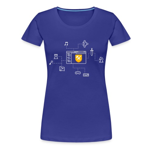 Solarus Quest Editor illustration - T-shirt Premium Femme