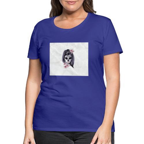 Tête de mort mexicaine - T-shirt Premium Femme