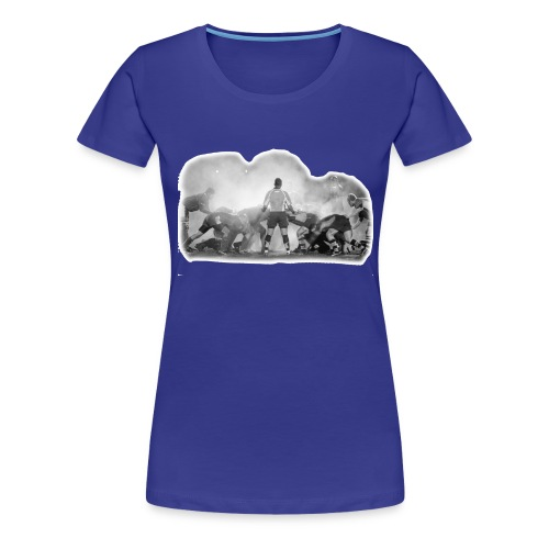 Rugby Scrum - Women's Premium T-Shirt