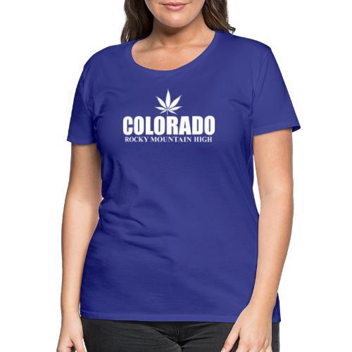 rocky mountain high - T-shirt Premium Femme