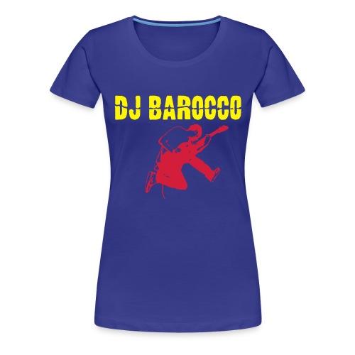DJ Barocco - Maglietta Premium da donna