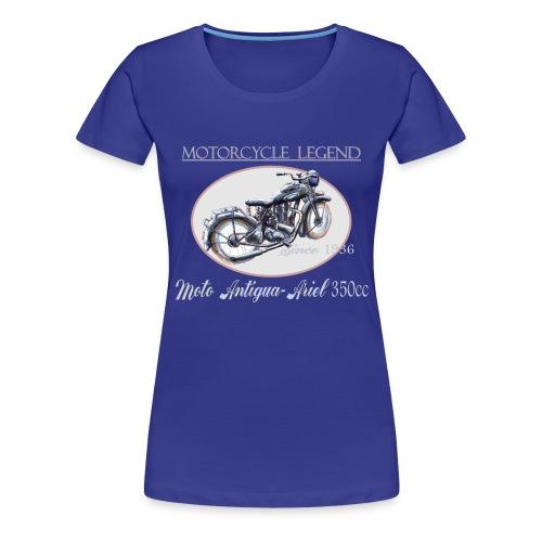 moto antigua - T-shirt Premium Femme