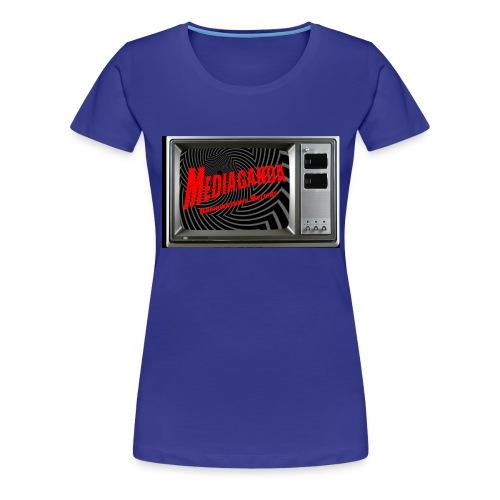 Mediaganda Logo - Frauen Premium T-Shirt