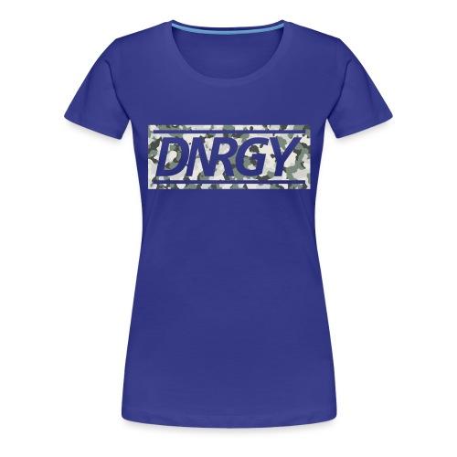 Camouflage Logo - Frauen Premium T-Shirt