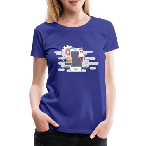 Mobile dev! - Koszulka damska Premium