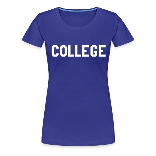 Animal House COLLEGE - Maglietta Premium da donna