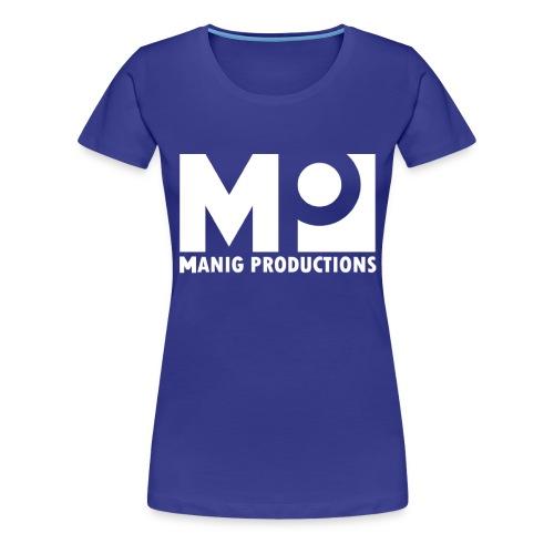 ManigProductions White Transparent png - Women's Premium T-Shirt