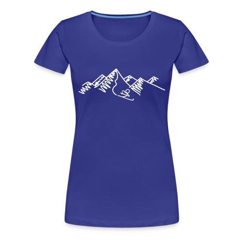ski-0009 - Frauen Premium T-Shirt