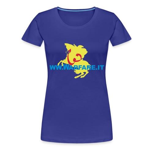 Logo di Warfare.it - Maglietta Premium da donna