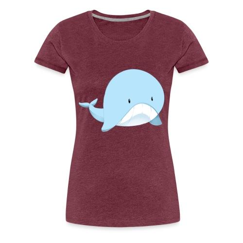 Whale - Maglietta Premium da donna