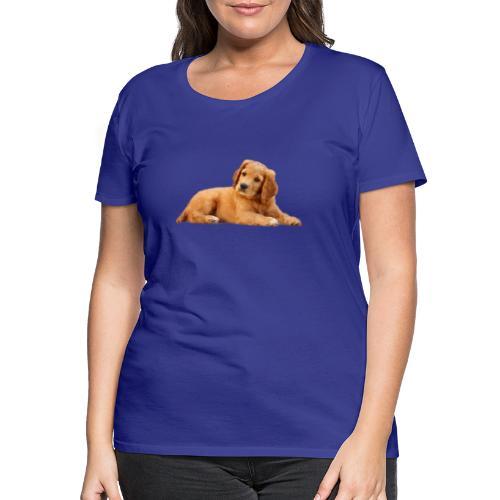 schoenenstelend blafbeest - Vrouwen Premium T-shirt