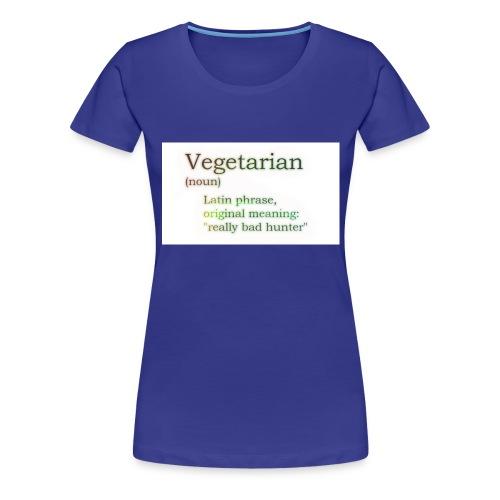 funny-vegetarian - Women's Premium T-Shirt