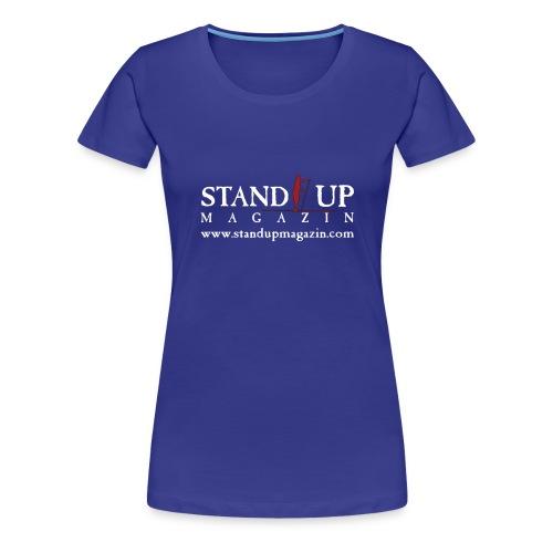 sup mag shirt front weiss - Frauen Premium T-Shirt