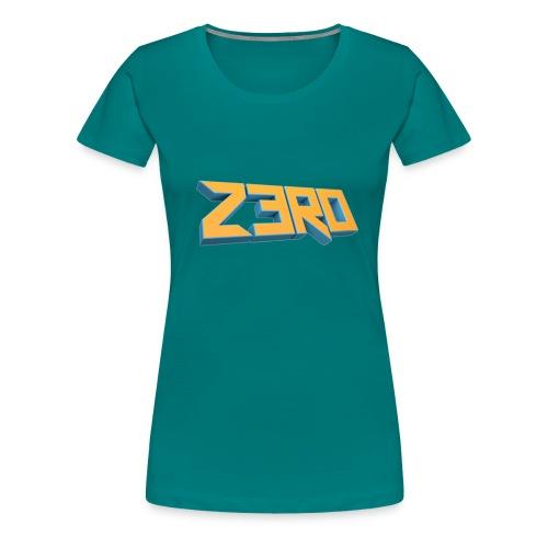 The Z3R0 Shirt - Women's Premium T-Shirt