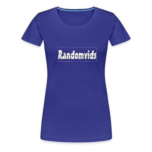 trui met kader - Vrouwen Premium T-shirt