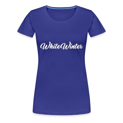 WhiteWinter - T-shirt Premium Femme