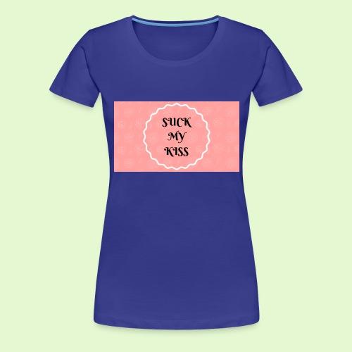 Kisses - Women's Premium T-Shirt