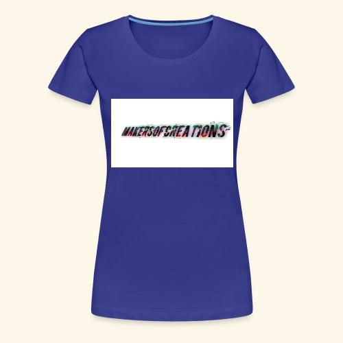 makersofcreations - Premium-T-shirt dam