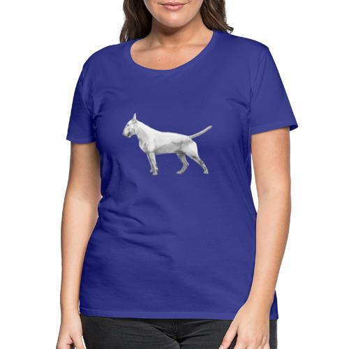 Bullterrier - Dame premium T-shirt